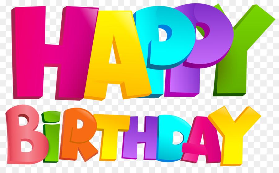 Happy Birthday Logo clipart.