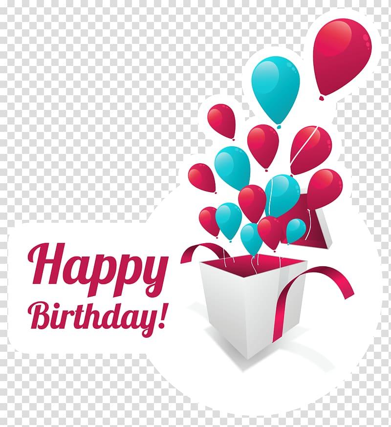 Birthday cake Greeting card Gift, Happy Birthday Text.
