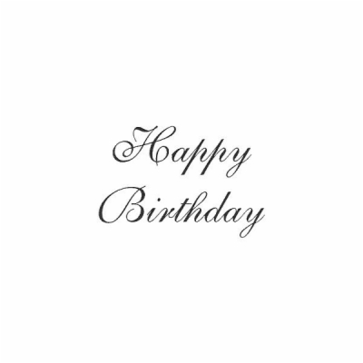 Happy Birthday Png Text Effects.
