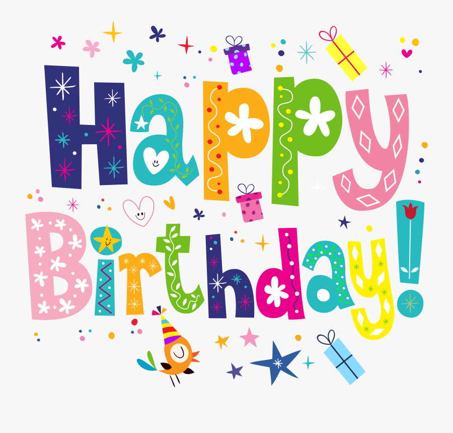 Happy Birthday Clipart Png.
