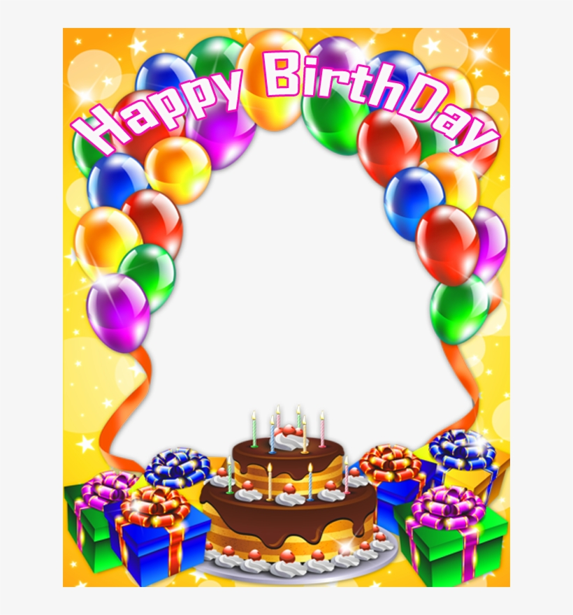 Birthday Collage Frame Png Hd.