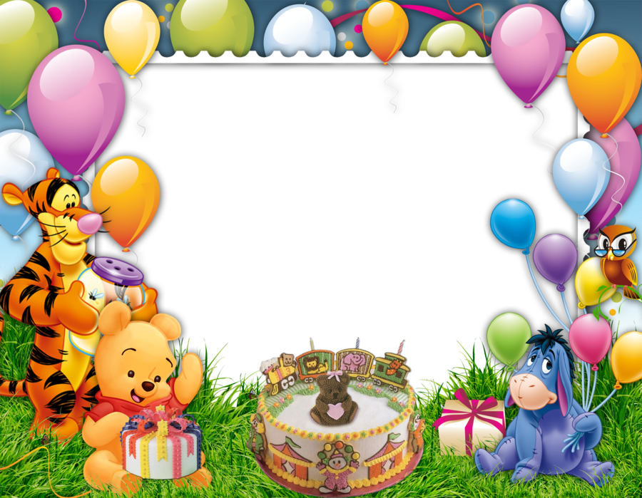 Birthday Collage Frame Clipart & Free Clip Art Images #32947.