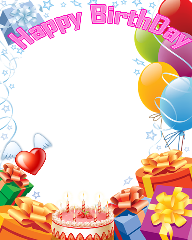 Download Birthday Collage Frame PNG Pic.
