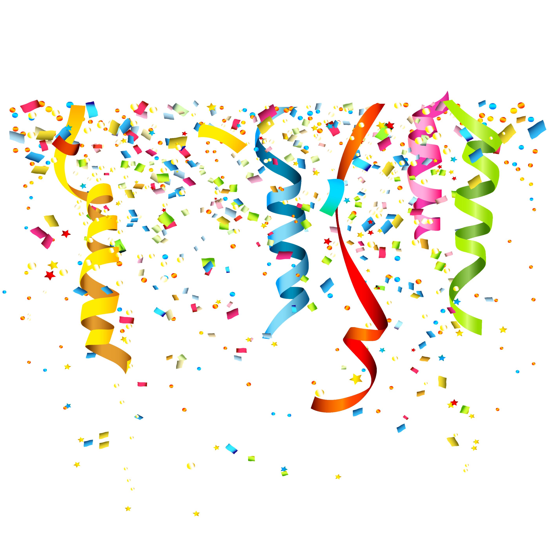 Party Confetti Birthday Clip art.