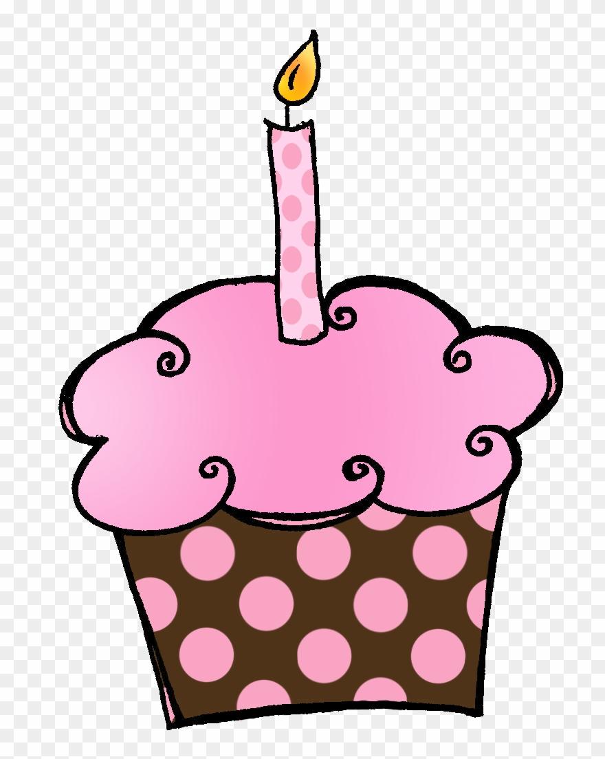 Birthday Cupcakes Clipart.
