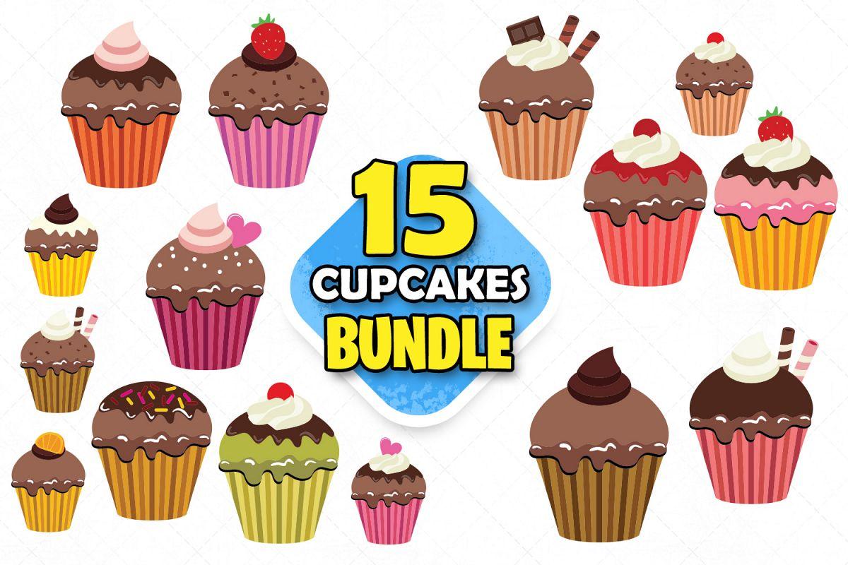 Cupcake clipart svg birthday cake cake clipart scrapbooking.