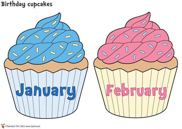 Free January Cupcake Cliparts, Download Free Clip Art, Free Clip Art.
