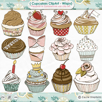 Birthday Cupcakes Clipart Worksheets & Teaching Resources.