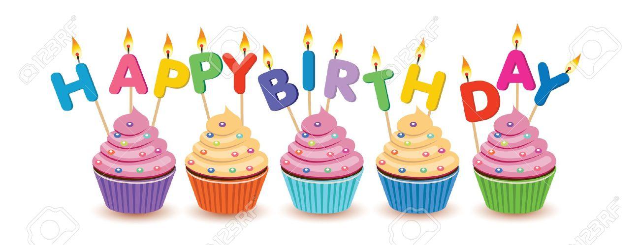 birthday cupcake clipart #19