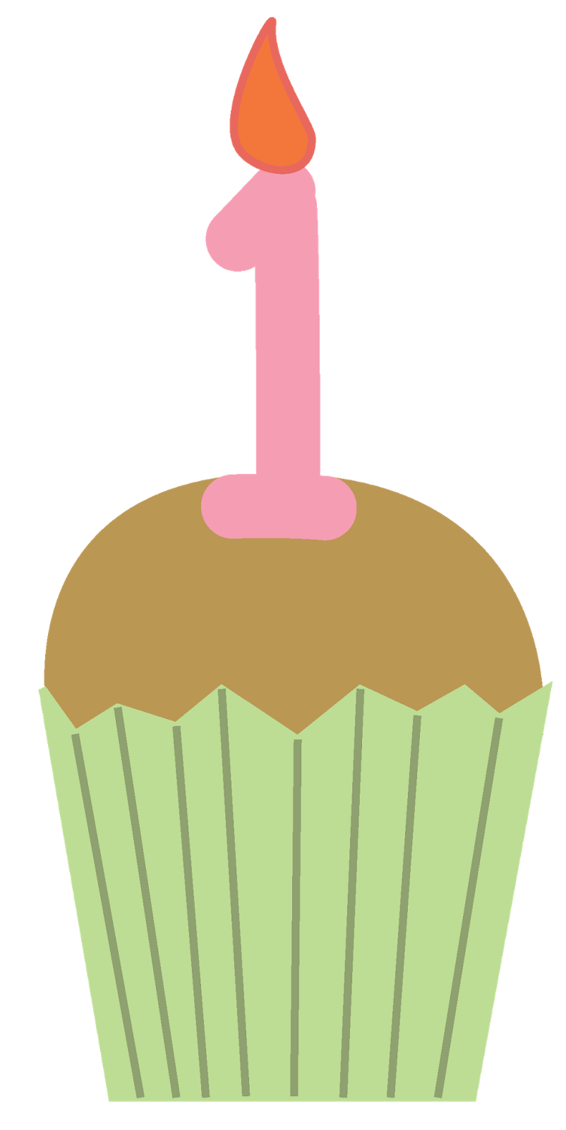 birthday cupcakes clipart.