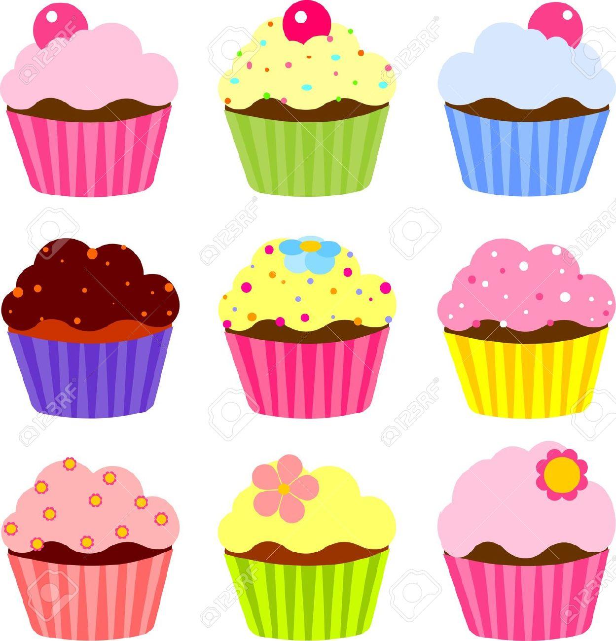 Cup Cake Clip Art & Cup Cake Clip Art Clip Art Images.
