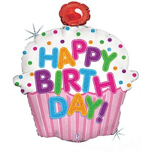 Happy Birthday Cupcake Images Clipart.