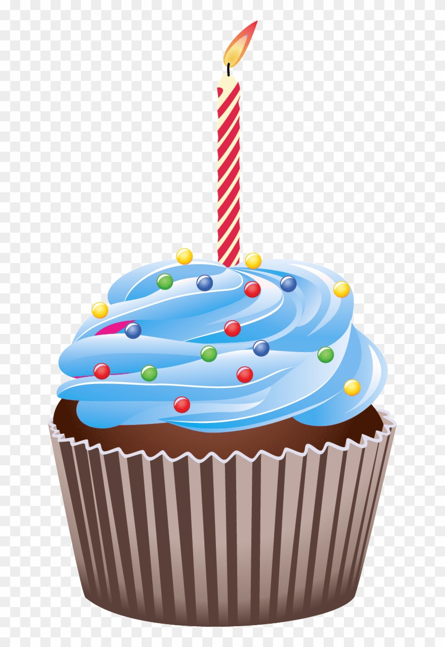 Download Free png Cupcake Clip Art Clip Art, Birthday.
