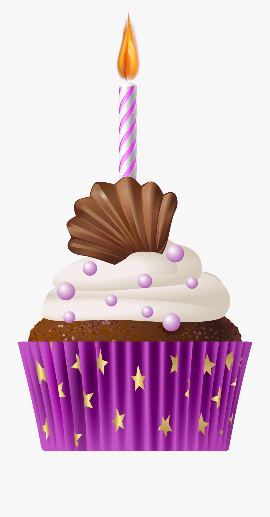 Cupcakes Clipart Happy Birthday.