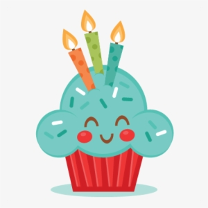 Birthday Cupcake PNG Images.