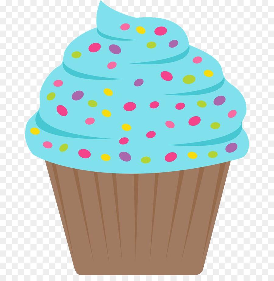 Cupcake birthday clipart.