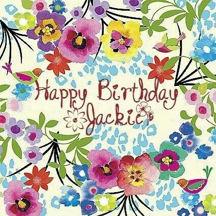 Happy birthday jackie clipart.