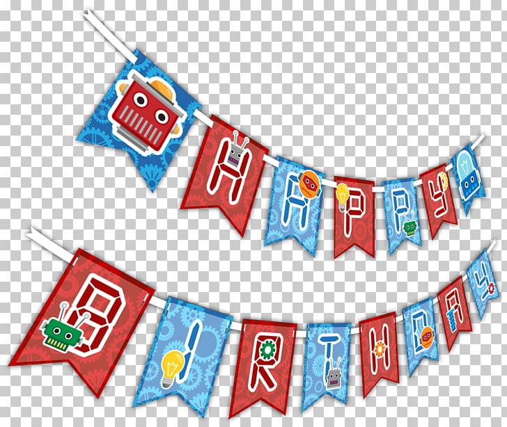Birthday Party Kwanzaa Toy balloon, birthday banner PNG.