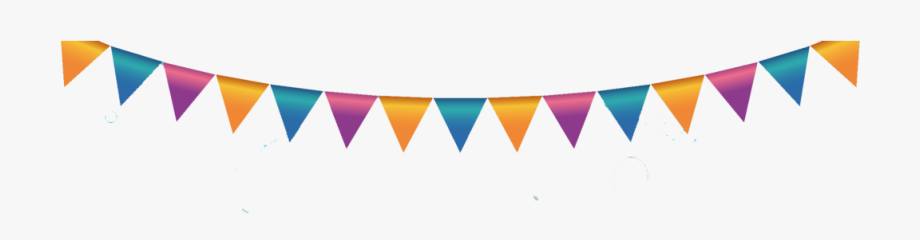 Happy Birthday Flags Png Hd.