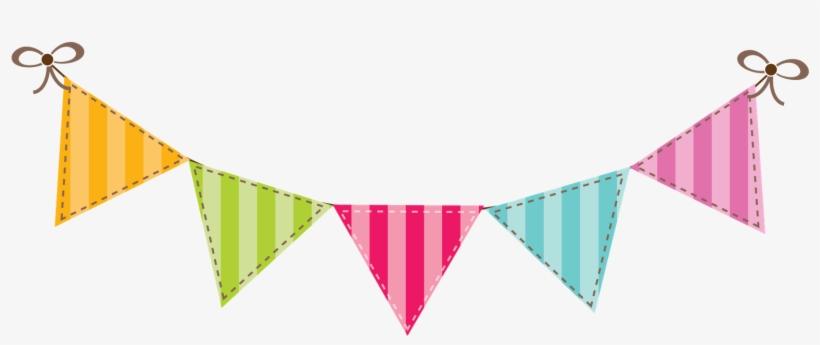 Happy Birthday Flag Banner Clip Art Png.