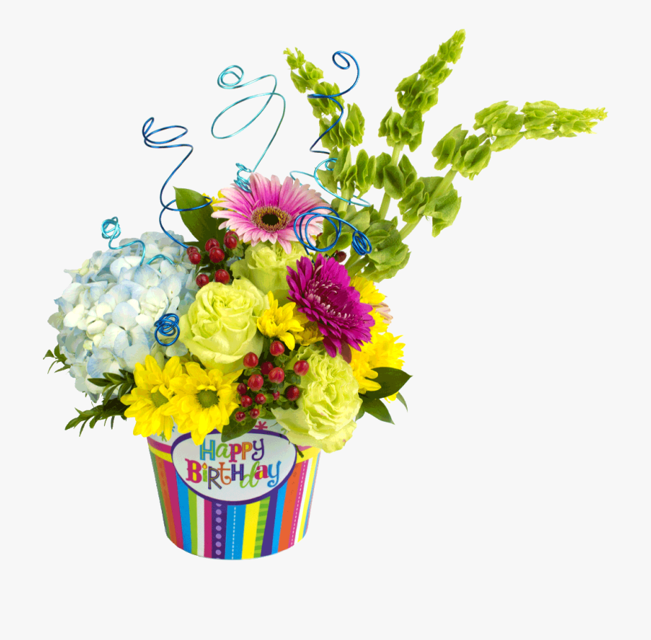 Floral Design Flower Bouquet Birthday Birth Shop.