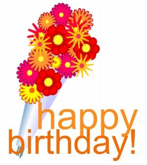 Birthday flowers clipart #Birthday #flowers #clipart.