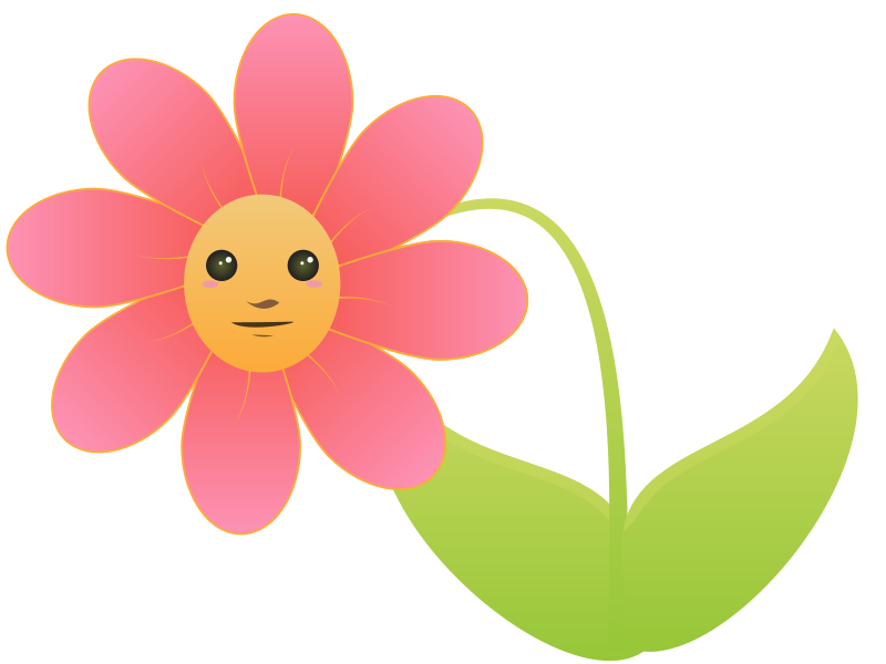 Birthday Flowers Clipart.