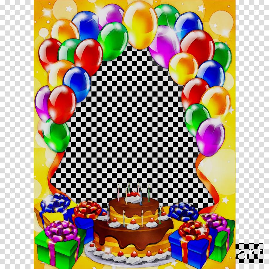 Happy Birthday Photo Frame clipart.