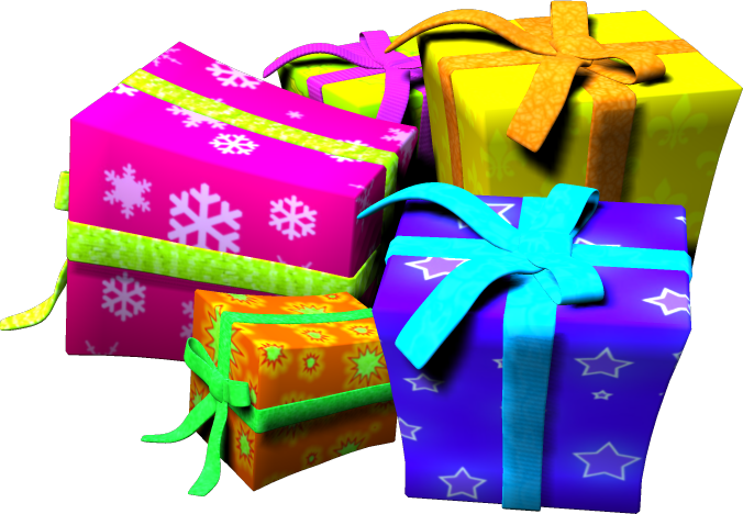 Birthday gift boxes png #39918.