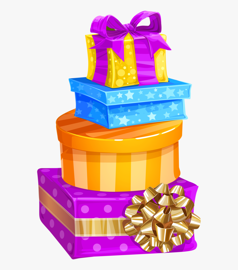 Birthday Gift Box Clip Art , Png Download.
