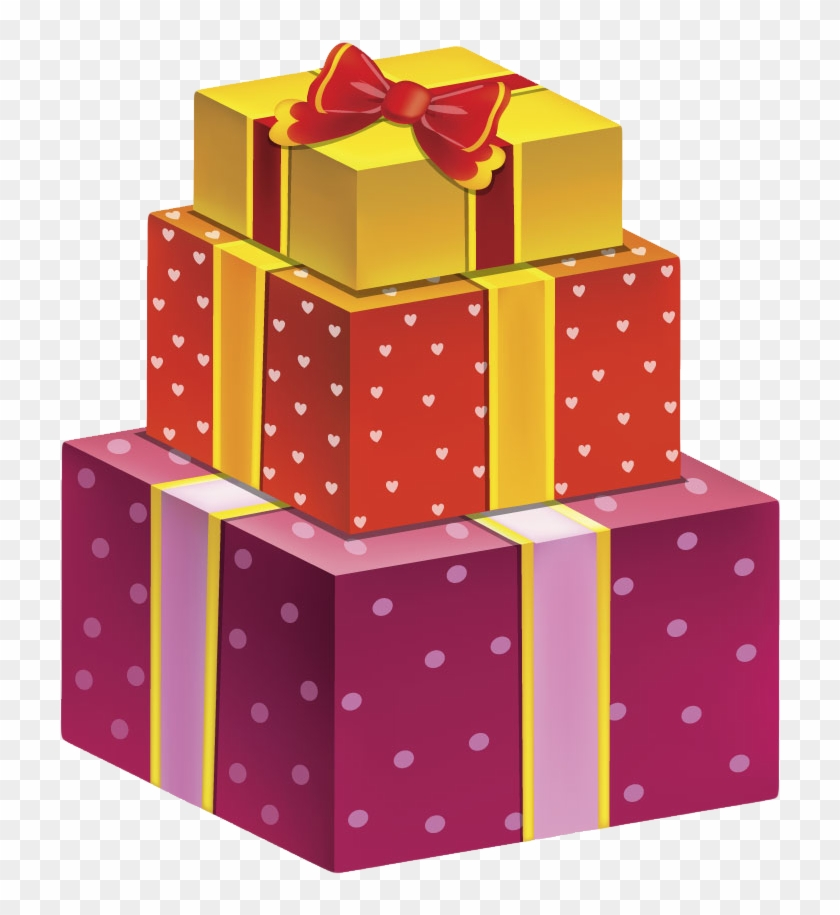 Birthday Gift Box Png, Transparent Png.