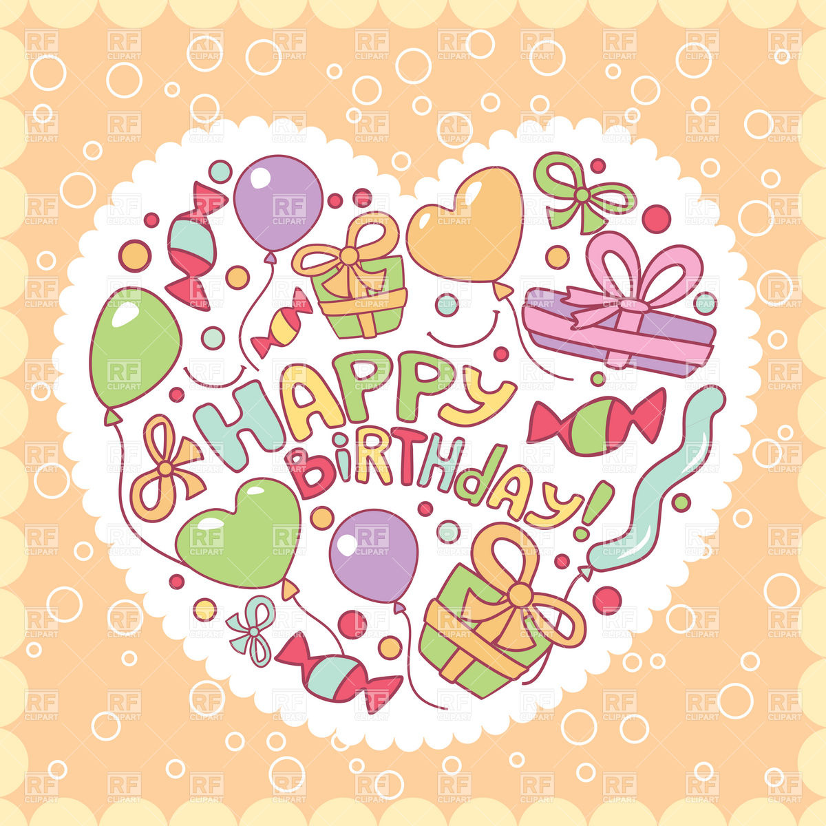 Happy Birthday Card Clipart Free.