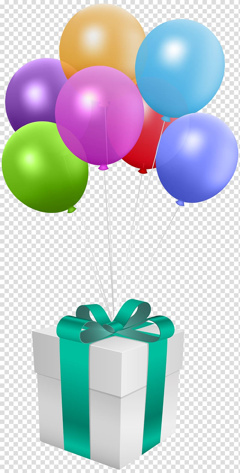 Balloon gift box, Balloon Gift Birthday , Gift with Balloons.
