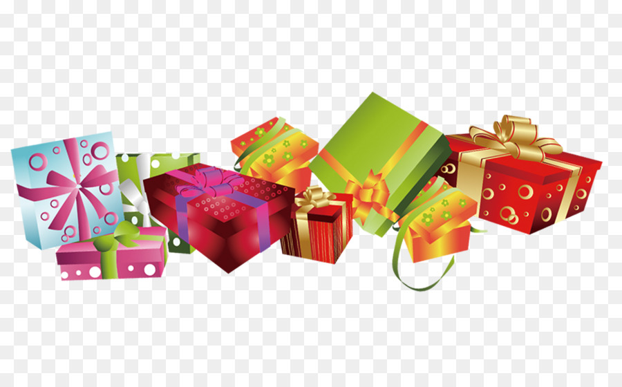 Birthday Gift Box png download.
