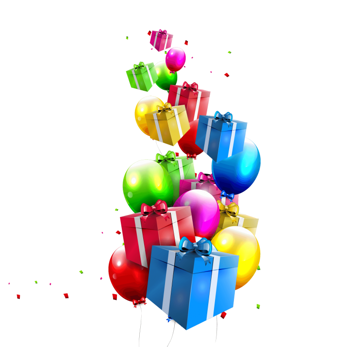 Birthday Gifts & Balloons PNG Image Free Download searchpng.com.