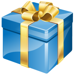 Birthday Present PNG Transparent Images.