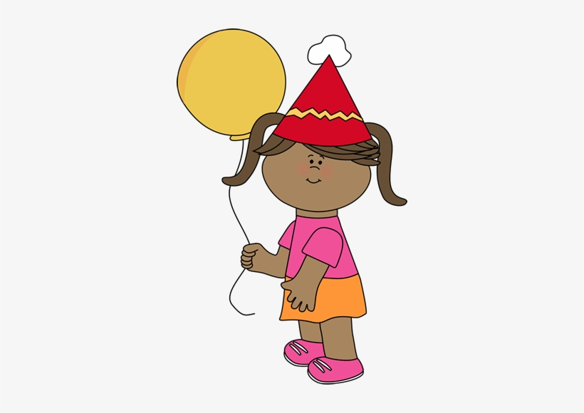 Clip Free Library Birthday Girl Clipart.