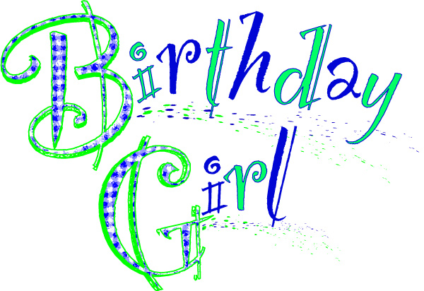 Birthday Girl Sign Free Printable Poster.