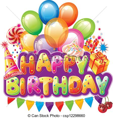 Free Clipart Images Happy Birthday.