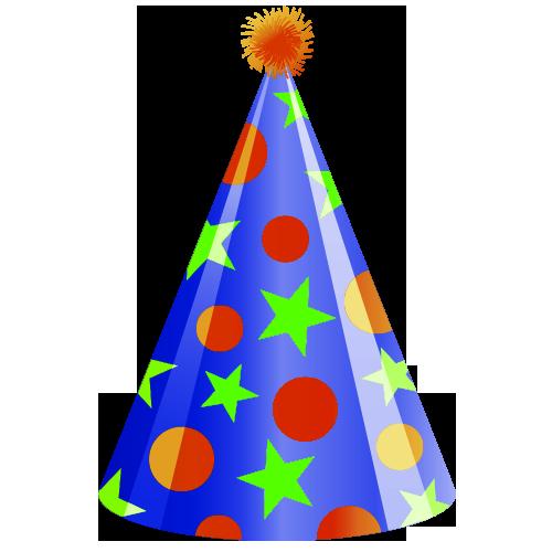 Birthday Party hat Clip art.