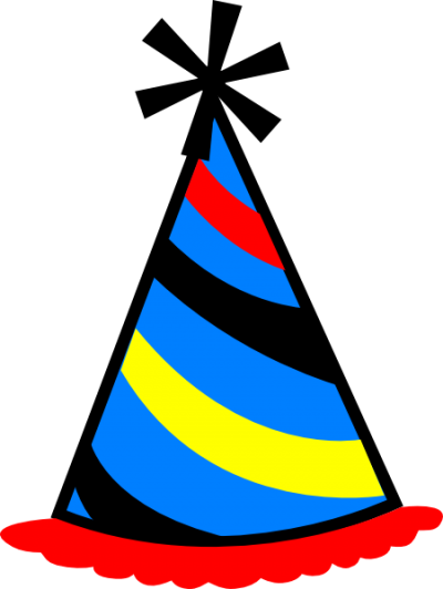 Birthday Hat Clipart Transparent Background.