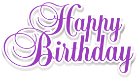 Happy Birthday Text Art, Design in PNG, VECTOR, PSD format.