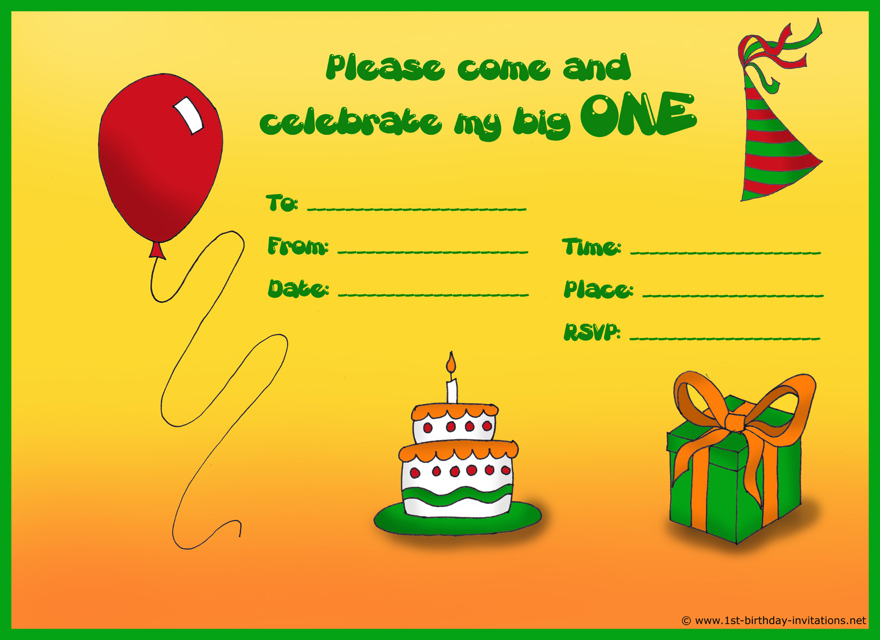 How to Create Birthday Invitations and Cards.
