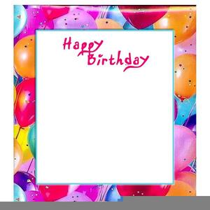Th Birthday Invitation Clipart.