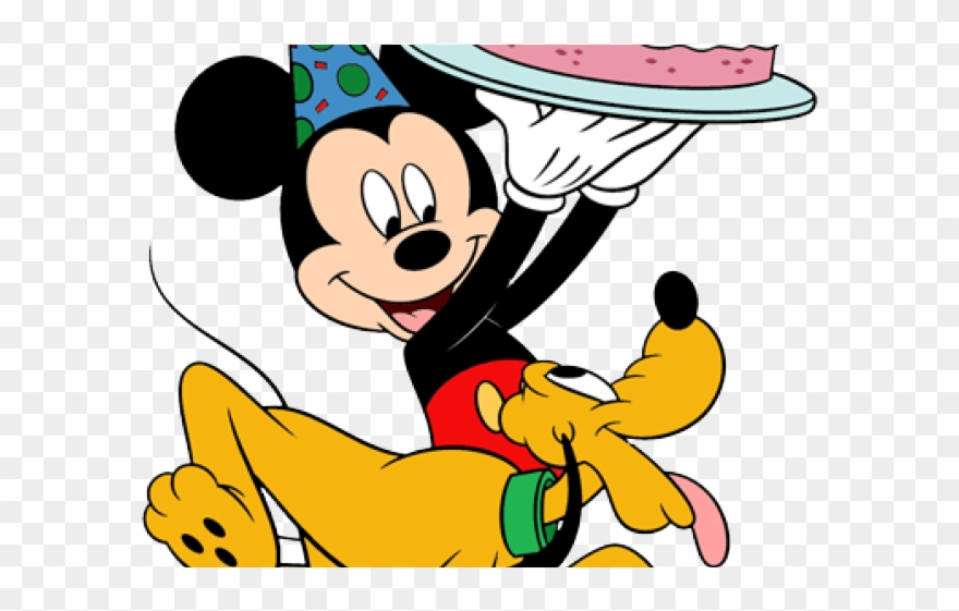 Birthday Clipart Mickey Mouse.
