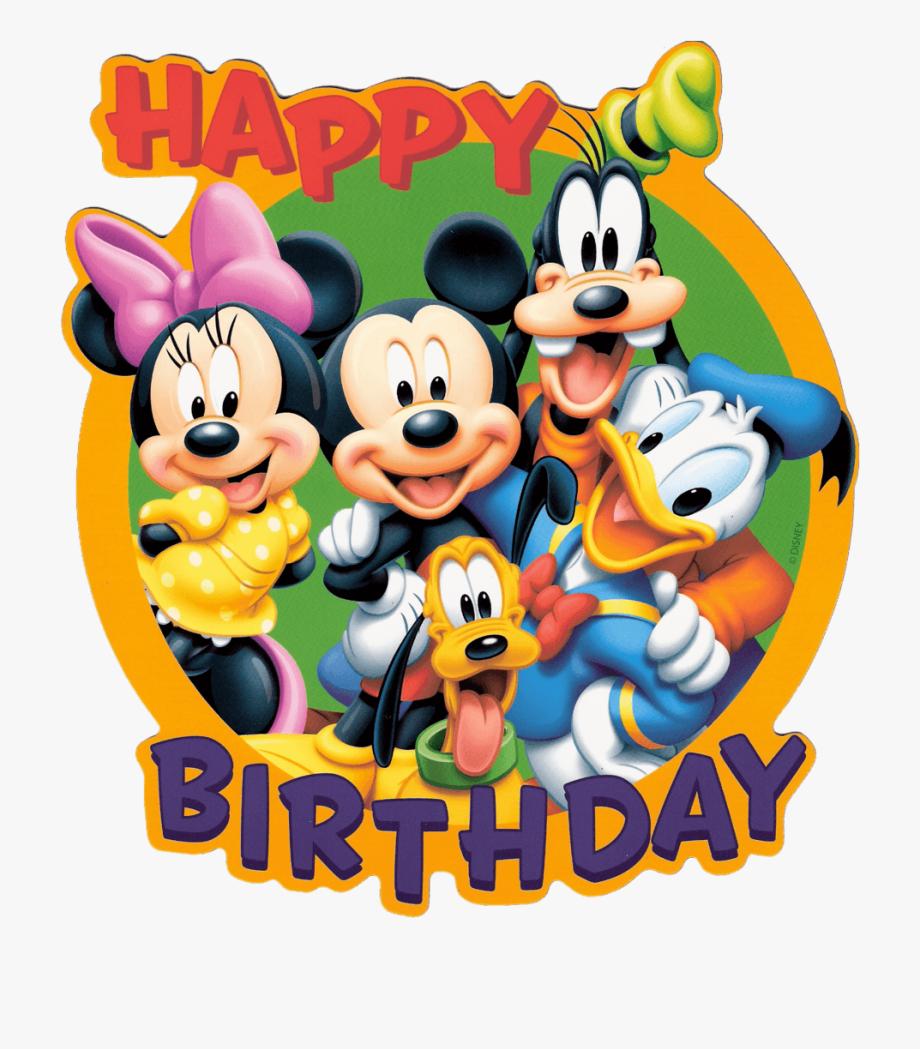 Mickey Mouse Birthday Disney Birthday Clipart.