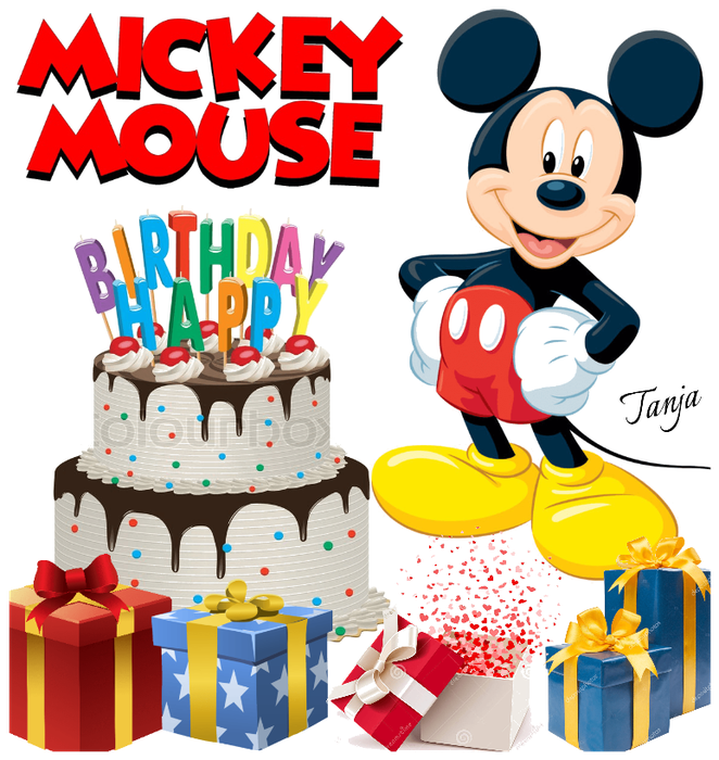 Mickey Mouse Birthday Png.
