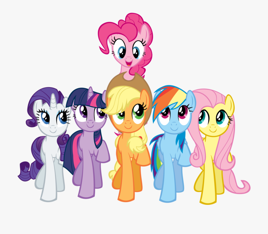 Number 2 Birthday Clipart My Little Pony.