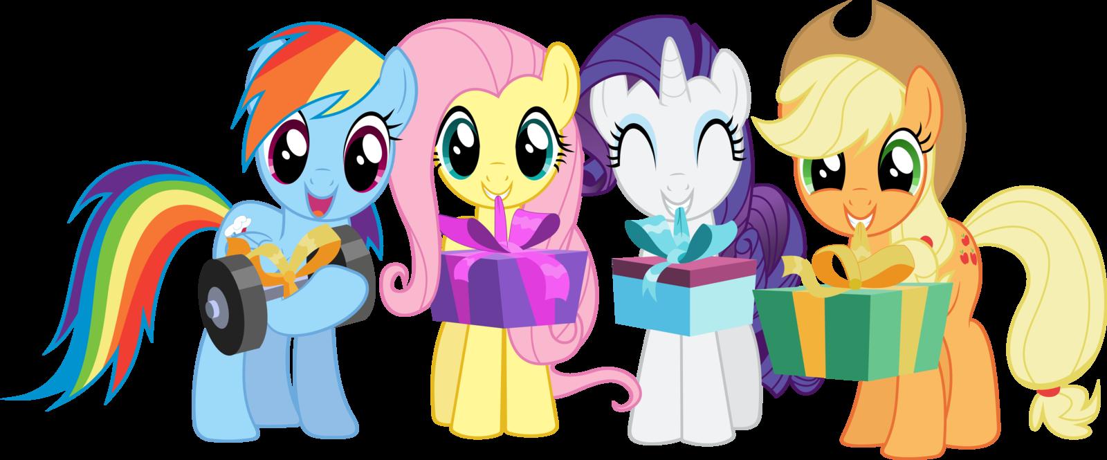 My Little Pony Happy Birthday Clipart.