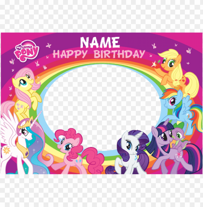 my little pony clipart happy birthday.